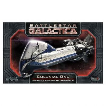 BATTLESTAR GALACTICA COLONIAL ONE 1:350TH SCALE MODEL KIT MOEBIUS NEW!